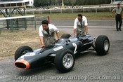 66593 - Graham Hill BRM - Tasman Series  Warwick Farm 1966 - Photographer Adrien Schagen