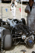 66594 - Graham Hill BRM - Tasman Series  Warwick Farm 1966 - Photographer Adrien Schagen