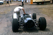 66595 - Graham Hill BRM - Tasman Series  Warwick Farm 1966 - Photographer Adrien Schagen