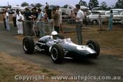 66599 - A. Buchanan NZ  Repco Brabham Climax - Tasman Series  Warwick Farm 1966 - Photographer Adrien Schagen