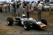 66601 - John Harvey Repco Brabham Ford T/C - Tasman Series  Warwick Farm 1966 - Photographer Adrien Schagen