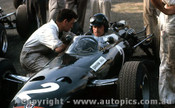 66604 - Graham Hill BRM - Tasman Series  Warwick Farm 1966 - Photographer Adrien Schagen