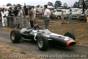 66605 - Graham Hill BRM - Tasman Series  Warwick Farm 1966 - Photographer Adrien Schagen