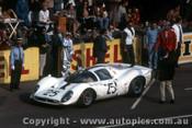 67304 - P. Rodriguez / G. Baghetti - Ferrari 412P - Le Mans 24 Hour 1967 - Photographer Adrien Schagen