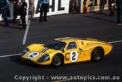 67306 - B. McLaren / M. Donohue -  Ford GT40 Mark IV - Le Mans 24 Hour 1967 - Photographer Adrien Schagen