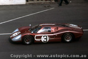 67307 - M. Andretti / L. Bianchi -  Ford GT40 Mark IV - Le Mans 24 Hour 1967 - Photographer Adrien Schagen