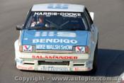 83774 - A. Harris / G. Cooke  Ford Falcon XE -  Bathurst 1983 - Photographer Lance J Ruting
