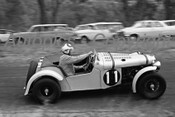65470 -  G. Makin MG TC  Supercharged Special, known as  Buttercup  - Lakeland Hillclimb 7th February 1965 - Photographer  Peter D Abbs