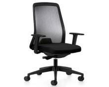 Interstuhl EVERY is Task chair in all black finishes