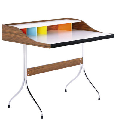 vitra home desk by george nelson 1958. Black Bedroom Furniture Sets. Home Design Ideas