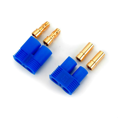 ion ec3 gold plated 3.5mm 60a battery connectors (1 set