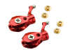 MicroHeli Precision CNC Aluminum Main Blade Grip set (RED) MCP X