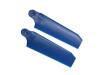 KBDD 72.5mm Extreme Edition Tail Blades 4032 Pearl Blue - TREX 500 / GAUI X4II / NX4