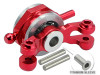 MICROHELI Double Bearing Titanium Tail Pitch Slider (RED) - BLADE 130X