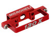 MICROHELI CNC DS35 Tail Servo Mount (RED) - BLADE 130X