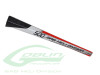 Carbon Fiber Tail Boom White/Red [H0276-S] - Goblin 500
