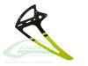 Carbon Fiber Tail Fin Yellow [H0242-S] - Goblin 500