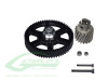 SAB Heavy Duty Main Gear And Pinion Combo Set [H0318-S] - Goblin 500 / 570
