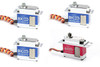 BK SERVO Mini HV Servo Combo (4-Pack) Set - (3x) Cyclic / (1x) Tail Servo