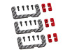 LYNX Cyclic Carbon Fiber Standard Size Servo Support LX0497 - Red Devil Edition  - GOBLIN 500