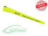 SAB Carbon Fiber Competition Tail Boom Yellow H0363-S - Goblin 630 Comp / 650 Nitro / 650 Thunder