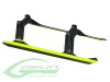 SAB Plastic Landing Gear Set (w/New Carbon Fiber Skids) [H0345-S] - Goblin 630/700/770 Competition