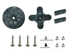 TORQ Replacement Servo Horn Set (w/hardware) - Cross & Wheel Type
