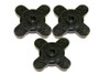 TORQ Replacement Servo Horns (3pcs) - Cross Type