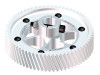 LYNX  Ultra CNC Main Gear Set - Silver Edition [LX0751] - GOBLIN 630 and larger