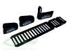 SAB Carbon Fiber Battery Tray (with straps) [H0311-S] - Goblin 570