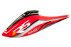 GAUI Fiber Glass Full Fuselage (front & rear) (A1 Type Red) - GAUI R5