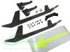 SAB Carbon Fiber Landing Gear Set - Goblin 500 Sport
