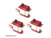 BK Micro Size HV Cyclic Servo DS-3002HV (3 PACK) - Goblin Fireball / Comet / Oxy 3