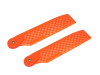 OXY4 Tail Blade 68mm -  NEON ORANGE