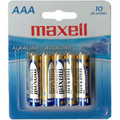 Maxell AAA Battery (Blister Card) - 10 Pack