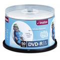 Imation Spindle of 50 Thermal White Printable DVDs