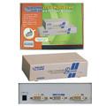 2 Way DVI Splitter-Resolution 1600 x 1200 @ 60Hz