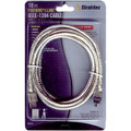 10' IEEE 1394 FireWire Cable - 6 Pin to 4 Pin - Clear - Stratitec