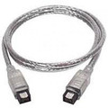 1' FireWire 800 Cable - 9 Pin to 9 Pin -