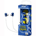 Cool Beans Stereo Earbuds - Blue - Maxell