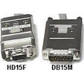 1' Cable - Mac to VGA Monitor Adapter<BR>DB15M/HD15F(VGA) with 4 DIP Switches to Adjust for 6 Resolutions