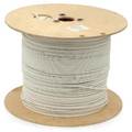 1000' 12AWG Plenum Speaker Wire - In-wall Rated - White