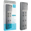 Belkin Surge Protector - $200,000 Warranty<BR>8 Outlets, RJ11 Protection