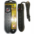 GoldX Surge Protector - $10,000 Warranty<BR>6 Outlets, 1050 Joules, Circuit Breaker