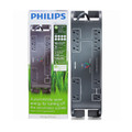 Philips Energy Efficient Surge Protector<BR>10 Outlets, EMI/RFI & $250,000 Limited Warranty