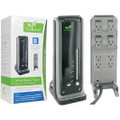 iGo Green Power Smart Tower - $25,000 Warranty<BR>8 Outlets, 4320 Joules, 6' Cord<BR>