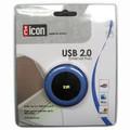 Icon USB 2.0 External Hub - 4 Ports