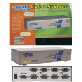 4 Way VGA Splitter-High Resolution 2048 x 1536 - 400 MHz
