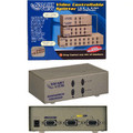 2 Way Controllable VGA Splitter<BR>High Resolution 2048 x 1536