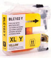 Brother LC103 Yellow Ink Cartridge High Yield - New compatible